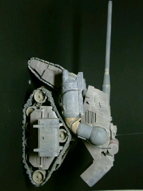 陸戦強襲型ガンタンク-横