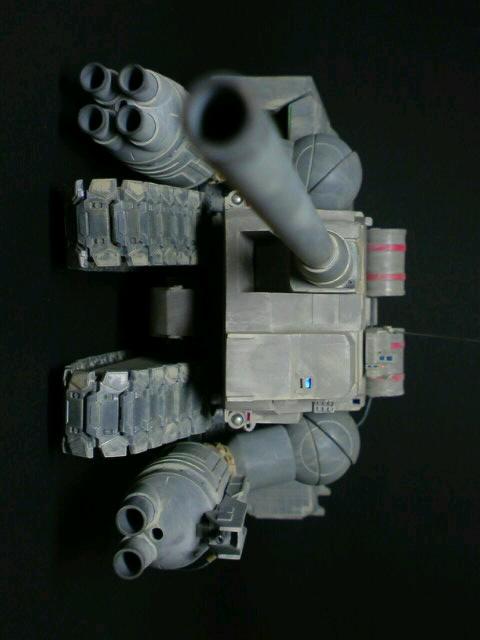 陸戦強襲型ガンタンク-突撃砲形態-前