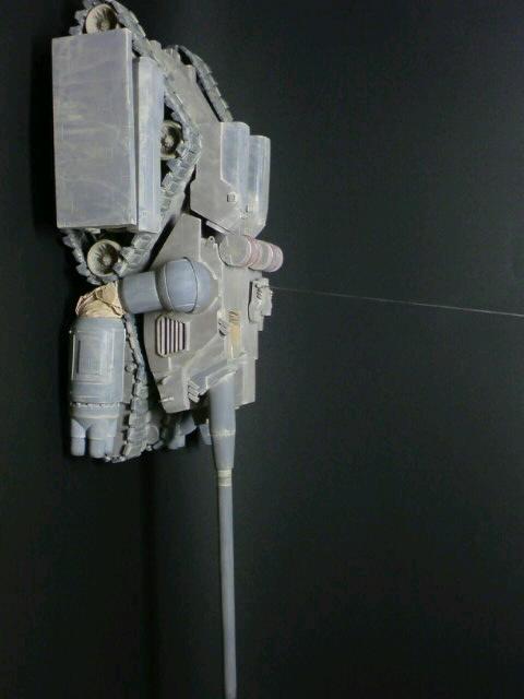 陸戦強襲型ガンタンク-突撃砲形態-横