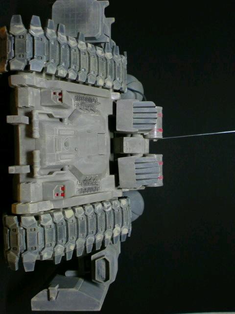 陸戦強襲型ガンタンク-突撃砲形態-後